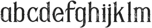Savana Grunge otf (400) Font LOWERCASE
