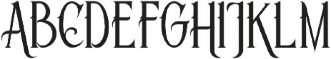 Savana Regular otf (400) Font UPPERCASE