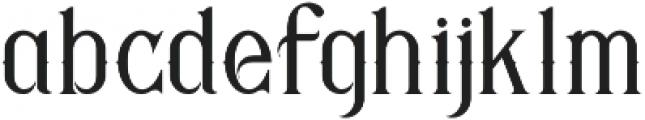 Savana Regular otf (400) Font LOWERCASE