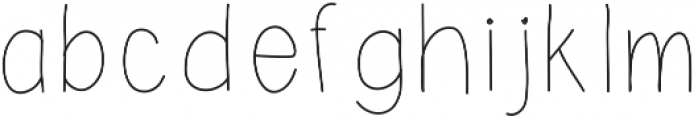SavannaMedium ttf (500) Font LOWERCASE