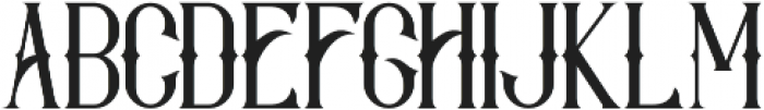 Savaro Spurs otf (400) Font LOWERCASE
