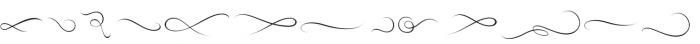 Savaro Swashes otf (400) Font UPPERCASE