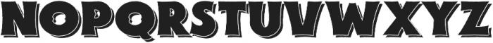 Savath Rough otf (400) Font LOWERCASE