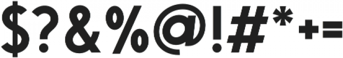 Saveur Sans Semi-bold otf (600) Font OTHER CHARS