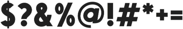 Saveur Sans otf (700) Font OTHER CHARS