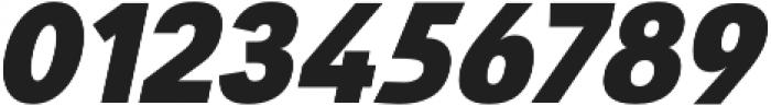 Savigny Black Norm Italic otf (900) Font OTHER CHARS