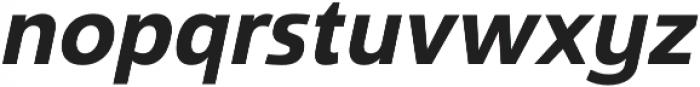 Savigny Bold Norm Italic otf (700) Font LOWERCASE