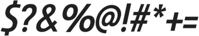 Savigny Medium Cond Italic otf (500) Font OTHER CHARS