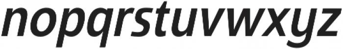 Savigny Medium Cond Italic otf (500) Font LOWERCASE