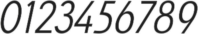 Savigny Regular Cond Italic otf (400) Font OTHER CHARS
