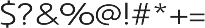 Savigny Regular Ext otf (400) Font OTHER CHARS