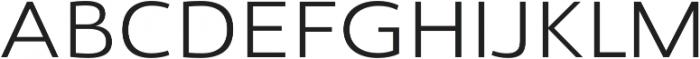 Savigny Regular Ext otf (400) Font UPPERCASE