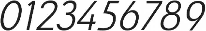 Savigny Regular Norm Italic otf (400) Font OTHER CHARS