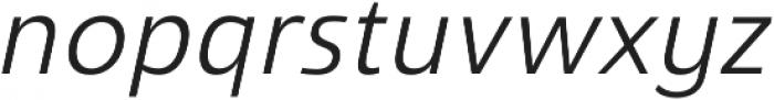 Savigny Regular Norm Italic otf (400) Font LOWERCASE