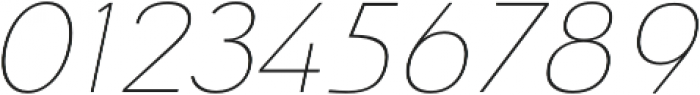 Savigny Thin Ext Italic otf (100) Font OTHER CHARS