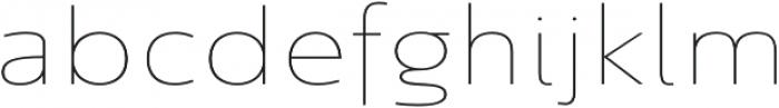 Savigny Thin Ext otf (100) Font LOWERCASE