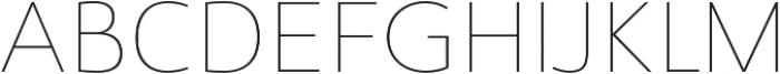 Savigny Thin Norm otf (100) Font UPPERCASE