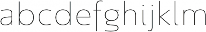 Savigny Thin Norm otf (100) Font LOWERCASE