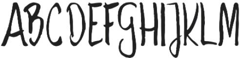 Savory otf (400) Font UPPERCASE