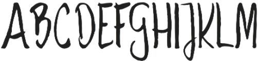 Savory otf (400) Font LOWERCASE