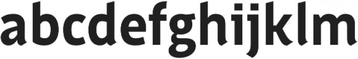 Saya FY otf (700) Font LOWERCASE