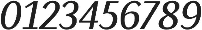 Saya SemiSans FY Medium Italic otf (500) Font OTHER CHARS