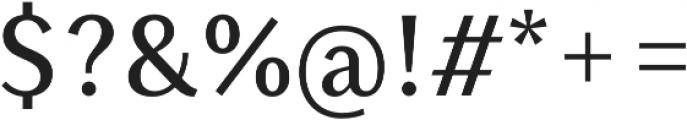 Saya SemiSans FY Medium otf (500) Font OTHER CHARS