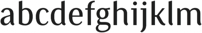 Saya SemiSans FY Medium otf (500) Font LOWERCASE