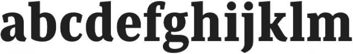 Saya Serif FY Black otf (900) Font LOWERCASE