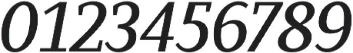 Saya Serif FY Medium Italic otf (500) Font OTHER CHARS