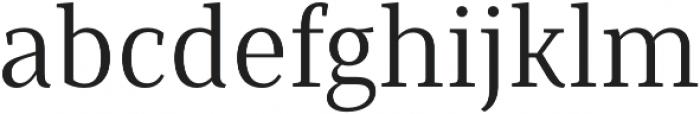 Saya Serif FY otf (400) Font LOWERCASE