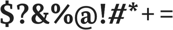 Saya Serif FY otf (700) Font OTHER CHARS