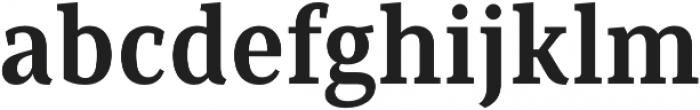 Saya Serif FY otf (700) Font LOWERCASE
