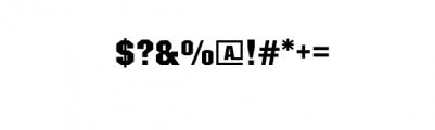 SASM Regular.otf Font OTHER CHARS