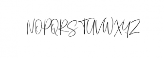 Sagitarius Signature Font Font UPPERCASE