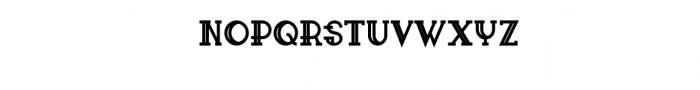 Sailor Font Font UPPERCASE
