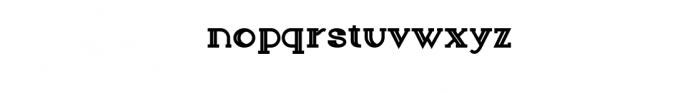 Sailor Font Font LOWERCASE