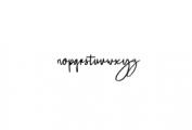 Salute Riches - Handwritten Font Font LOWERCASE