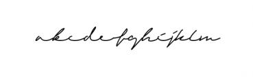 Sandreas Signature Font LOWERCASE