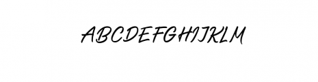 saltery regular.otf Font UPPERCASE