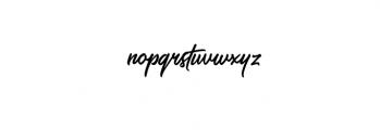 saltery regular.otf Font LOWERCASE