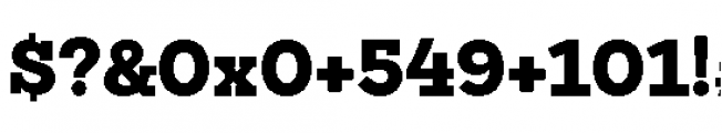Sanchez Niu Black Font OTHER CHARS
