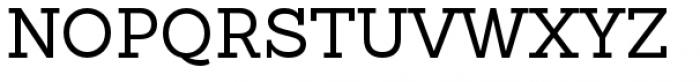 Sanchez Slab Regular Font UPPERCASE