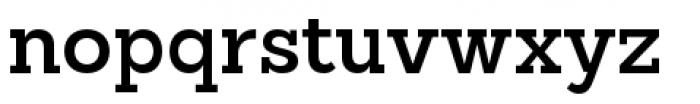 Sanchez Slab Semi Bold Font LOWERCASE