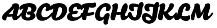 Santeli Bold Font UPPERCASE