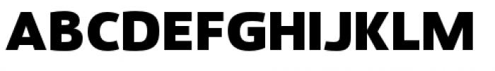 Savigny Black Normal Font UPPERCASE