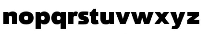 Savigny Black Normal Font LOWERCASE
