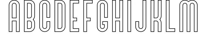 SALE! Bivoac Layered Font 3 Font UPPERCASE