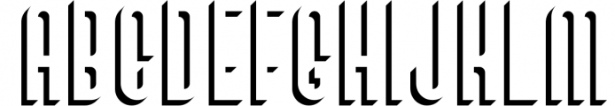 SALE! Bivoac Layered Font 4 Font UPPERCASE