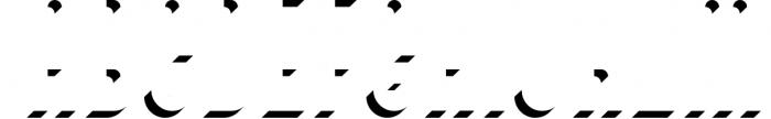 SALE! Bivoac Layered Font Font LOWERCASE